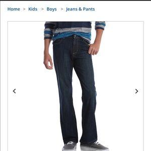 Boys wrangler 10 slim Denim jeans